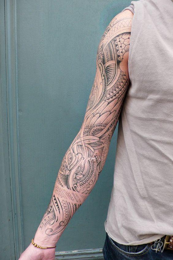 bleu-noir-tattoo-paris-jeykill-manchette-motifs-masques2