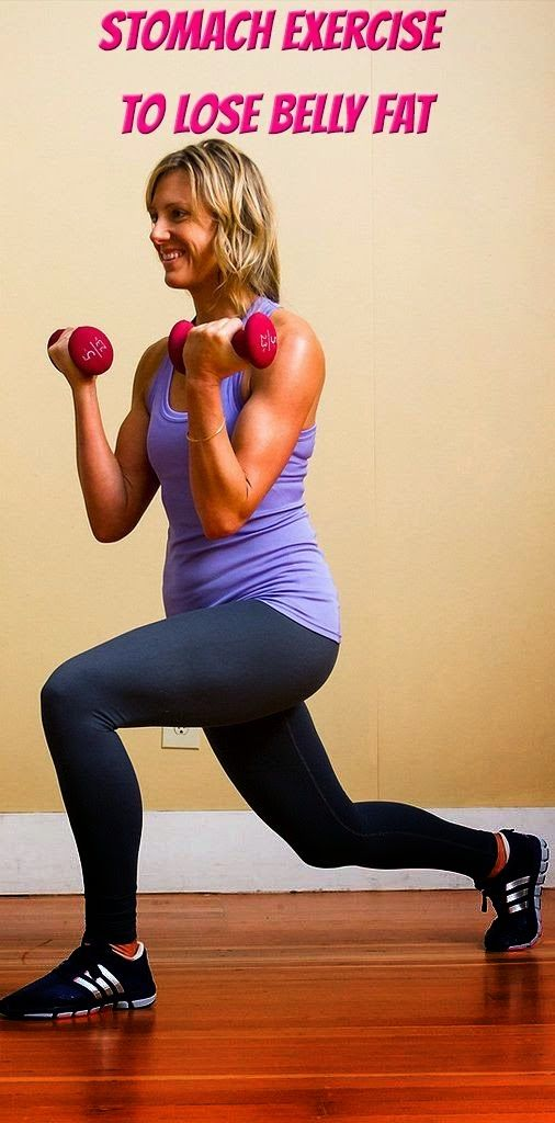 how to lose stomach fat in a week exercise