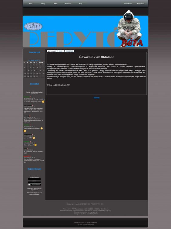 Pepytó Weblap