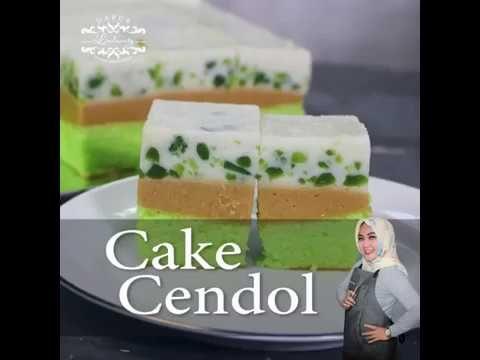 Resep Cake Cendol Cara Membuat Cake Cendol By Lindawaty Youtube Kue Resep Gula