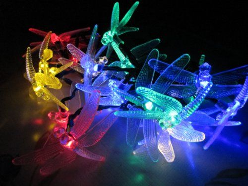 M&T Tech Outdoor Solar Powered 20 LED Fairy Lights String for Garden Christmas Party Wedding with Dragonfly Shape(Multi Colour) M&T Tech,http://www.amazon.com/dp/B00GMLEVXS/ref=cm_sw_r_pi_dp_i2Yvtb1CJT545MZY