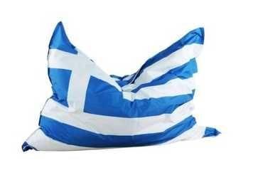 Griechenland Flaggen Sitzsack