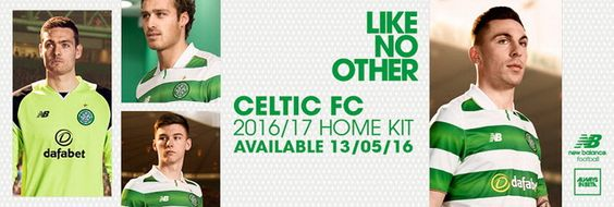 Ceci est le nouveau Maillot de foot Celtic pas cher pour la saison 2016/2017: