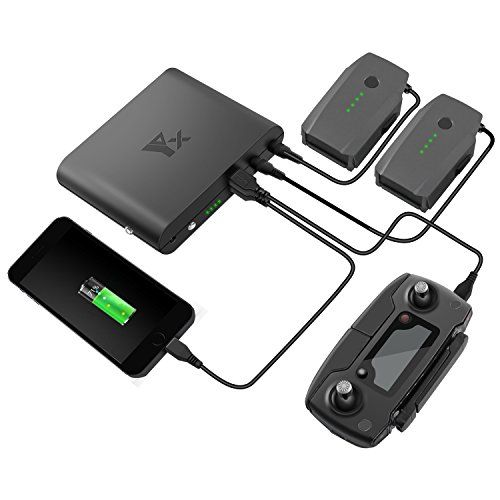 Great Review Anbee 25000mah Power Bank For Dji Mavic Pro Mavic Pro Platinum Drone Outdoor Portable Battery Charger Dji Mavic Pro Mavic Pro Outdoor Charger