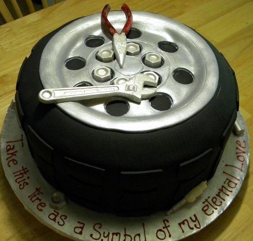 80 Trending Birthday Cake Designs For Men Women Children Grooms Cake Cake Tire Cake