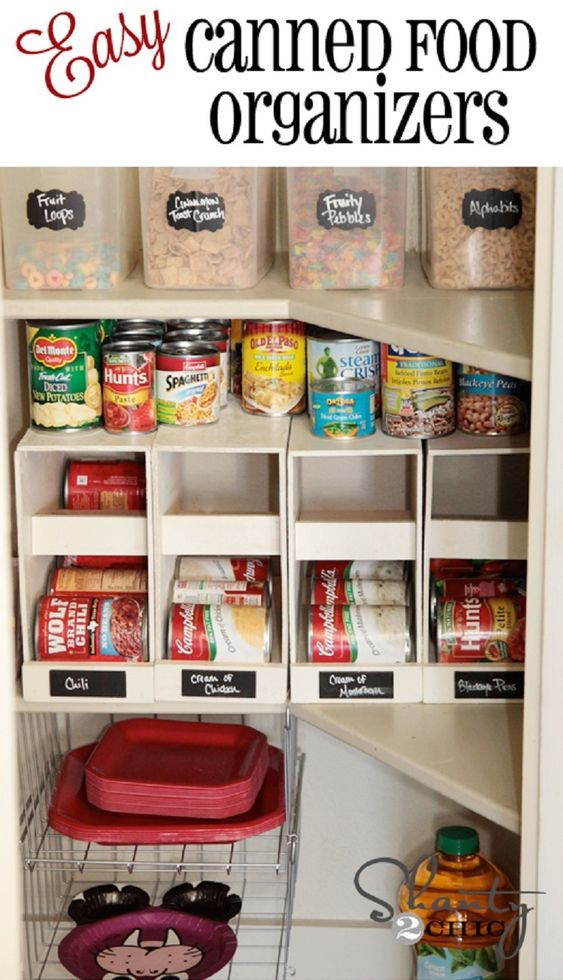 stackable canned food organizers 10 best diy home