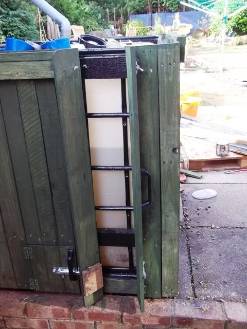 Cladding A 1000 Ltr 250 Gallon Ibc Water Tank Water Tank Rain Water Collection System Hot Tub Outdoor