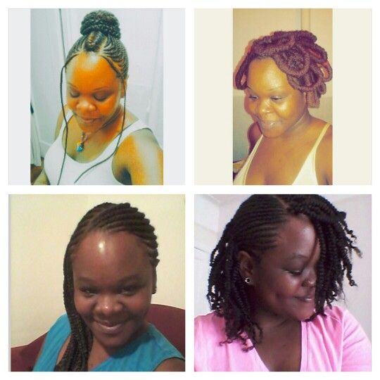 Protective hairstyle ideas...