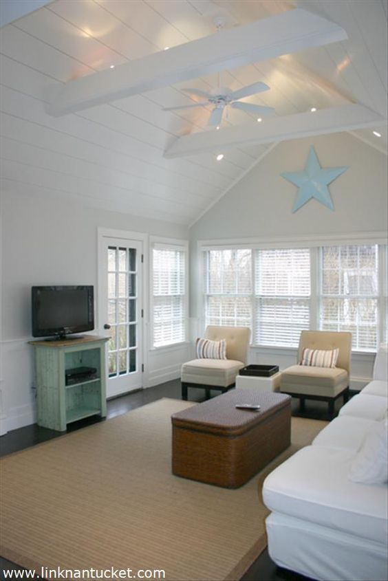 Ceiling fans white on white and aesthetics on pinterest for Difference between vaulted and cathedral ceiling