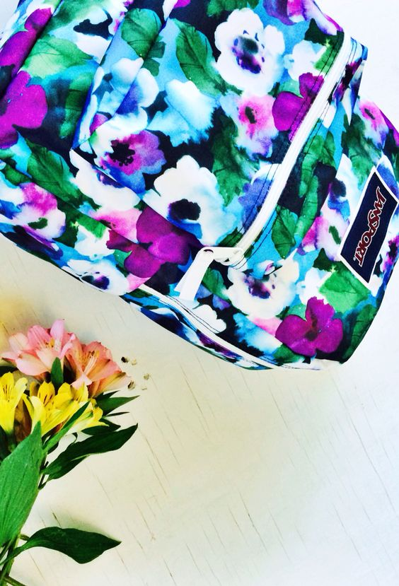 April showers bring May flowers - Shop new Overexposed floral print backpacks only available on JanSport.com