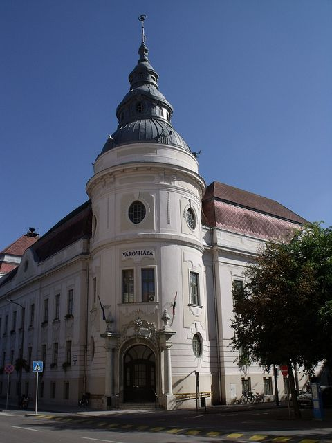 City Hall of Szentes, Hungary