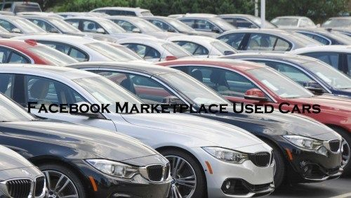 Facebook Marketplace Used Cars Selling Cars On Facebook