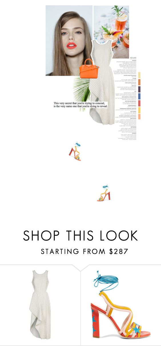 """""""☺"""" by makica-brate ❤ liked on Polyvore featuring 3.1 Phillip Lim, Paula Cademartori and Givenchy"""