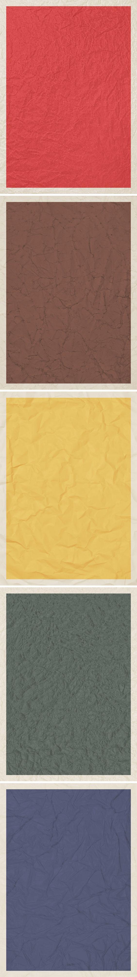 GraphicBurger » 5 Wrinkled Poster Backgrounds