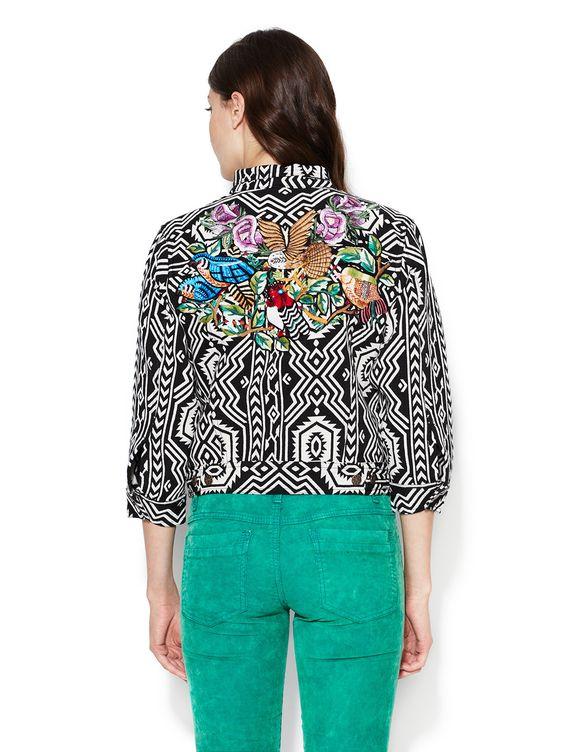 New Romantics Embroidered Jacket  Jacket #Cargo #Clock #Blazer #Lingerie #Underwear #IntimatesWomen #Outerwear