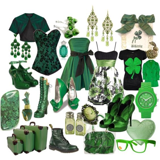 La Verde Irlanda, created by neurone on Polyvore