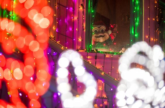 National Treasure Baby Sinclair in the Osborne Lights at Disney World - Disney Tourist Blog