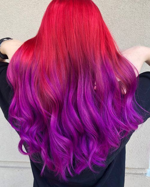 17 Greatest Red Violet Hair Color Ideas Trending In 2020 Violet Hair Colors Red Violet Hair Color Violet Hair