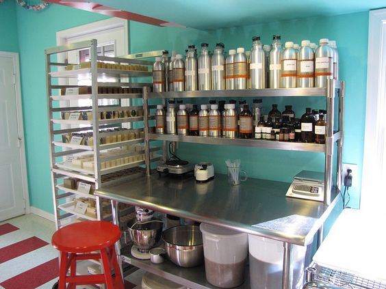 Work Stations Soaps And My Essential Oils On Pinterest