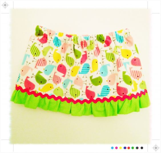 adorable spring skirt for a little girl ! <3 etsy!!!  http://craftylittleauntie.wordpress.com/2012/04/12/adorable-spring-skirt-for-girls/