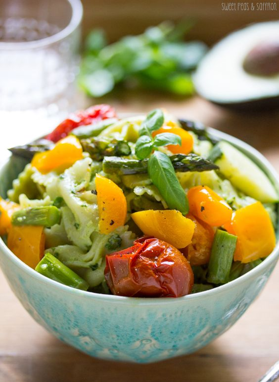 ... Roasted Summer Vegetables | Recipe | Avocado pesto pasta, Vegetables