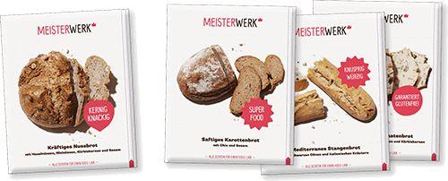 Riesen Auswahl an leckeren Brotback-Sets von Meisterwerk