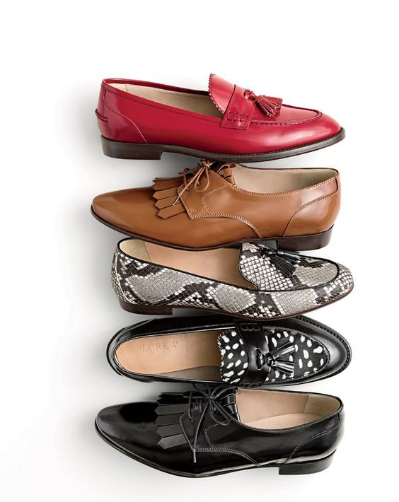 J.Crew women's made-in-Italy loafers. We borrowed this style from the guys, but let's be honest—we wear it better.