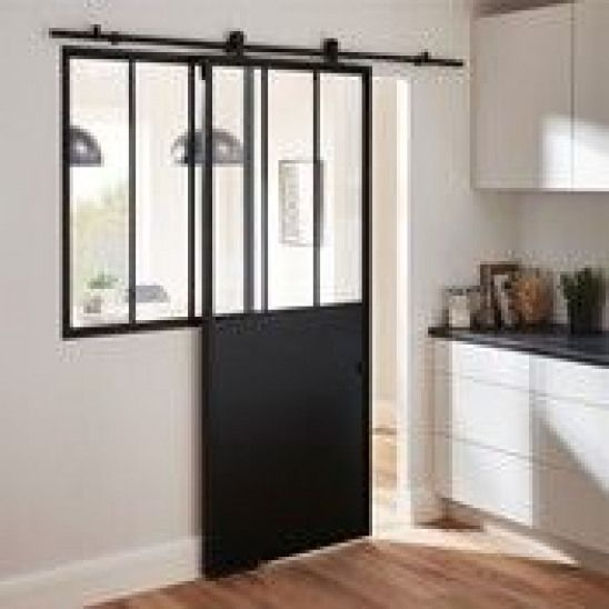 Porte Coulissante Sur Rail A Galandage Brico Depot Roomdivider Room Divider Bathroom Home Home Remodeling House Interior
