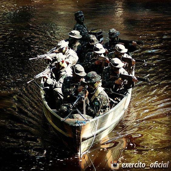 """""""Árdua é a #missão de #desenvolver e #defender a #Amazônia. Muito mais #difícil, porém, foi a de nossos #antepassados em conquistá-la e mantê-la."""" Gen Ex Rodrigo Octávio Jordão Ramos"""