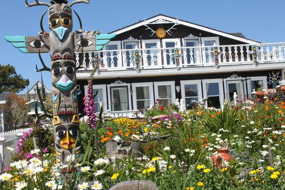 Mendocino hotel. The food was great and not too pricey
