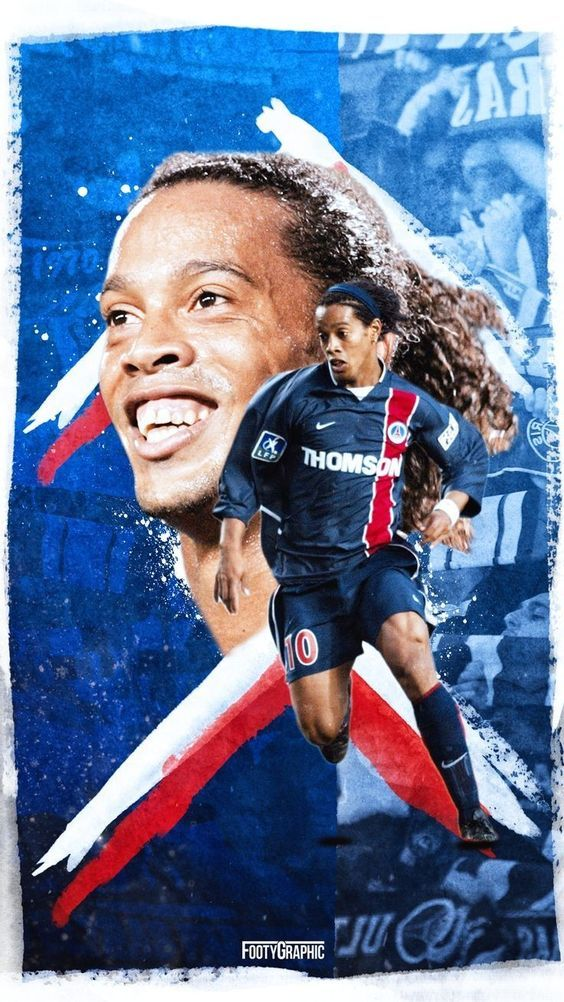 Ronaldinho Of Psg Read The Latest Sports News And Forecasts On Https Upsure Co Za Ronaldinho Wallpapers Psg Legends Football