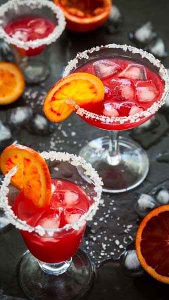 Pomegranate Orange Wedges Recipe — Dishmaps