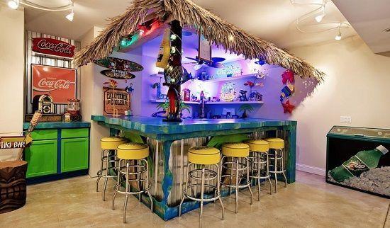 Tiki Bar Ideas Decorations
