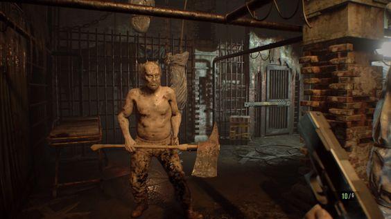 Resident Evil 7 - machado