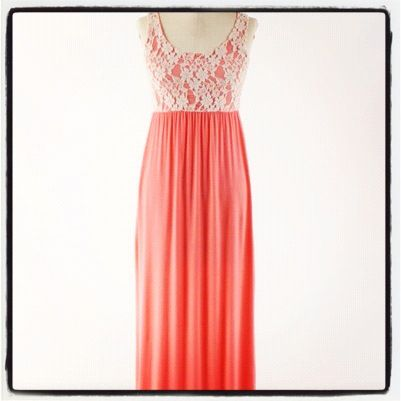 Lace Party Maxi @ www.sassyblossom.com