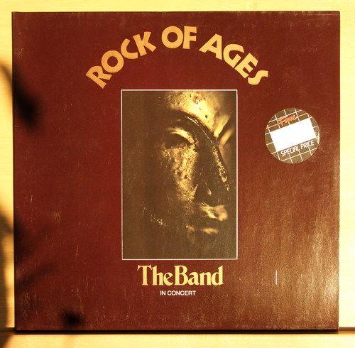 THE BAND - Rock of Ages - In Concert - Double Vinyl LP - near mint nm - FOC Rar
