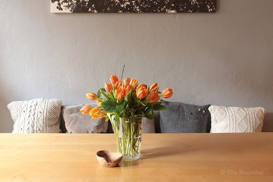Die Raumfee: Tulpen in Winterorange II Tulips in orange