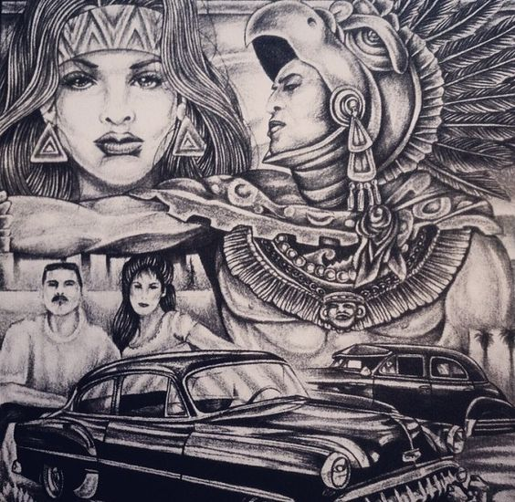 cultural identity in chicano art Chicano architecture  of visual artistic precedent to express a reinvigorated cultural identity  of the primary centers of the chicano art movement in.