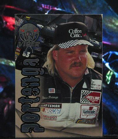 http://nascarniche.blogspot.com/  Steve Portenga Truck Series 1996 Wheels Viper Trading Card #71 Base Set Nascar