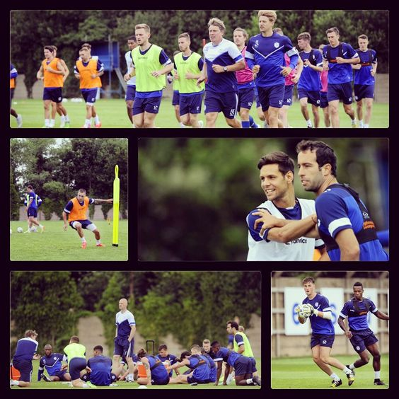 The Owls first week of training at Middlewood Road #swfc