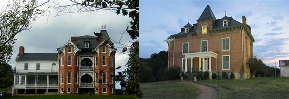 The (haunted) Major Graham Mansion in Max Meadows, VA ...