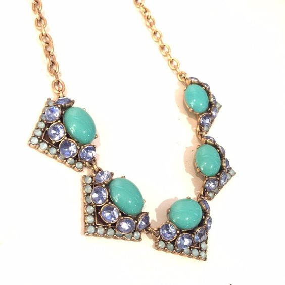 Stella & Dot Rory Turquoise Necklace Very minimal wear. Jewelry Necklaces: