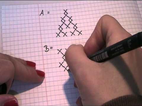 Muster Fur Die Buchstaben Sticken Video Teil 1 Youtube Make It Yourself Howto