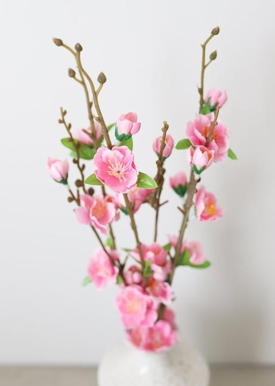Fake Cherry Blossom Bundle In Pink Discount Silk Flowers Cheap Flowers Wholesale Flowers