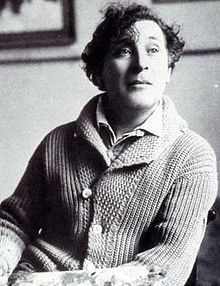 Russian-French painter Marc Chagall.
