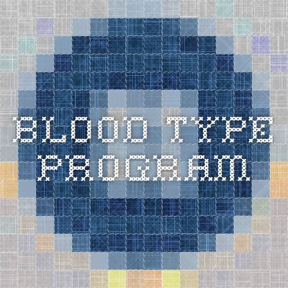 Blood Type Program