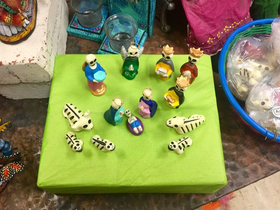 Day of the Dead Nativity. Hand crafted in Mexico $32.00