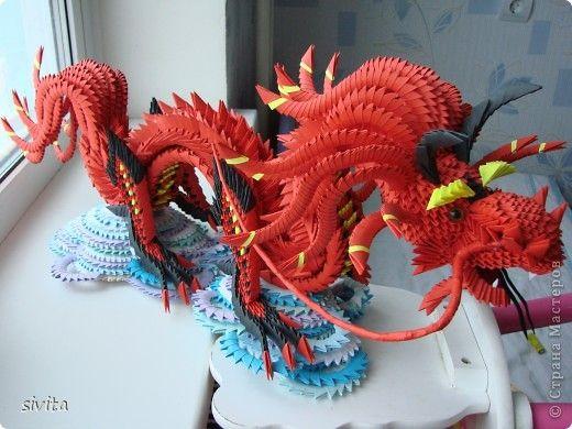 Поделки на новый год китайский дракон