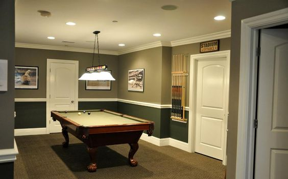 Image of: Basement Decorating Ideas for Teenagers
