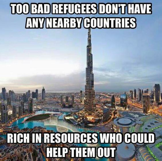 Really!.......THEY DO!!!!.......BUT THEY DON'T WANT THEM EITHER.....SO WHY SHOULD WE?......I SAY NO!!!!.......KEEP THEM OVER THERE......WE DO NOT WANT THEM HERE EITHER......GET IT NOW.?.......